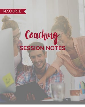 Coaching Session Notes